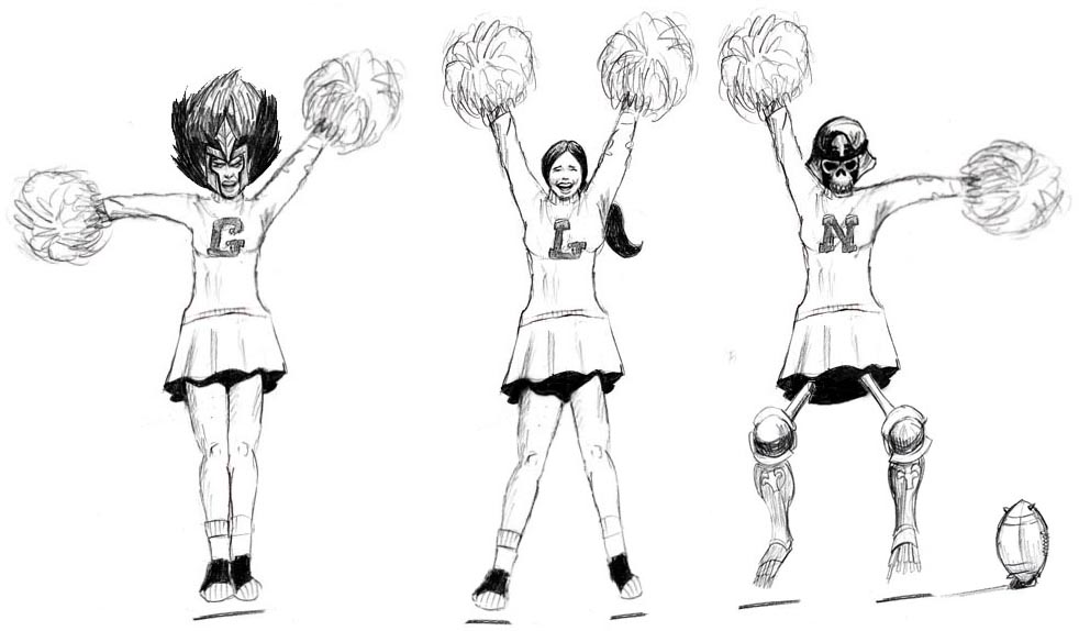 Formation cheering